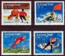 Kazakhstan 1994 Winter Olympics Three Complete Sets MNH