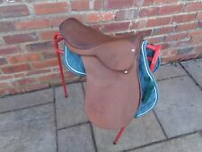 "16"" SELLA INGLESE pony H.V Davies Saddlery M/W Fit"
