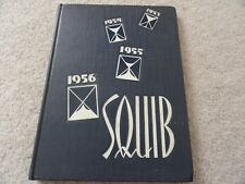 1956 Shelbyville High School Yearbook from Shelbyville IND.