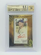2019 Topps Allen and Ginter Framed Mini Autographs Red Ink #MAPA Peter Alonso