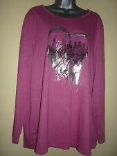 Pink cityscape top G.W. by Gerry Weber in size 48 UK22 BNWT