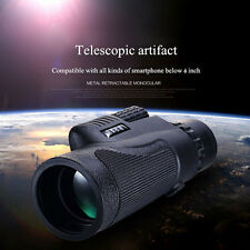 12X50 Hiking Concert Portable Camera Lens Zoom Telescope for Smart phone