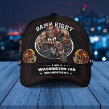 Washington Football Team Classic Cap Nfl Football 3D Hat Apparel Cap For Fan.