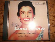 Lena Horne-It's Love-1999 RCA/BMG-Japan+OBI