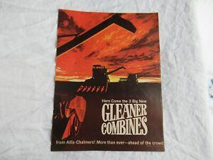 Allis Chalmers 170XT tractor Gleaner combine brochure magazine print ad poster