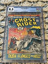 Marvel Spotlight #6 CGC 8.5 White Pages 2nd GHOST RIDER/ORIGIN Unpressed