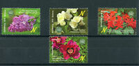 Belarus 2015 MNH Shrubs Cent Botanical Gardens NAS 4v Set Peony Flowers Stamps