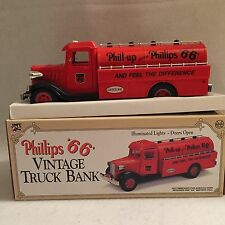 """NEW Phillips """"66"""" Vintage Truck Bank 1993 Ltd Edition 1st In Series #P66-001"""