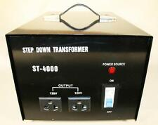 4000W - 240V to 120V Stepdown Power Transformer Suits Imported RV's & Caravans