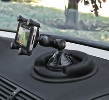 RAM Cell Phone Suction Cup Car Mount w/ Friction Dashboard Base fits iPhone 6s
