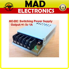 Rare! Positive and Negative +/-5V DC 1A 12W JMD10 Switching Power Supply 240V