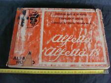 CATALOGO PARTI DI RICAMBIO ORIGINALI ALFETTA E ALFETTA 1.8 1976 ALFA ROMEO