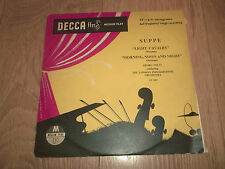 "SUPPE "" LIGHT CAVALRY / MORNING NOON AND NIGHT "" SOLTI ~ LPO DECCA 10"" EX/VG"