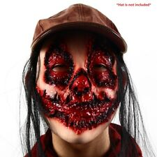 Resident Evil Zombie Infected Walker Horrify Face Mask fo Halloween Costume Prop