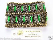 Amrita Singh Napeague Evergreen Runway Statement Stretch Cuff Bracelet #BRC116