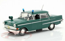 OPEL KAPITAN POLICE 1:43 scale model toy car die cast models cars diecast green