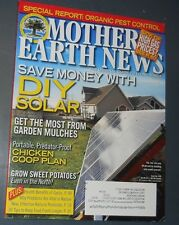 MOTHER EARTH NEWS MAGAZINE JUN/JUL 2011 DIY SOLAR CHICKEN COOP PLAN PEST CONTROL