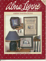 Amish Inspirations Cross Stitch Pattern Leaflet samplers religious scriptures