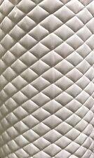 "Suede Quilted Platinum Auto Headliner Headboard Fabric 3/8"" Foam Back fabric"