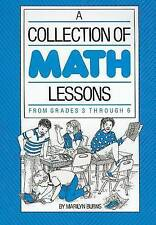 NEW Collection of Math Lessons, A: Grades 3-6 by Marilyn Burns