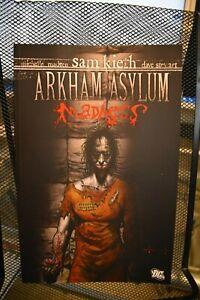 Batman Arkham Asylum Madness Complete DC TPB BRAND NEW Sam Keith Madsen