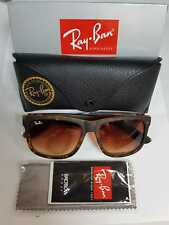 Ray-Ban Sunglasses Justin 4165 710/13 Rubber Light Havana Brown 54mm