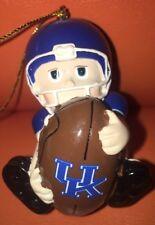 University Of Kentucky Wildcats Football Player Ornament UofK Christmas