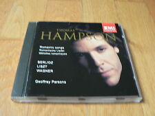 Thomas Hampson : Romantic Songs - Berlioz, Liszt, Wagner - Parsons - CD EMI 1994