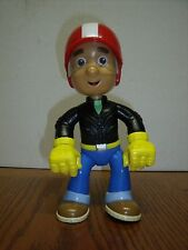 "Disney Handy Manny Doll Figure 2008 Mattel 8"" Tall Biker Motorcycle Outfit EUC"