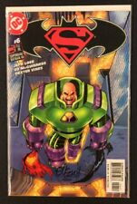 SUPERMAN BATMAN #6 Comic Book SIGNED ED MCGUINNESS Dynamic Forces COA Ltd 26/199