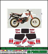 kit adesivi stickers compatibili xt 600 z tenere 34l 1983