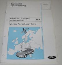 Technische Information Ford Mondeo Navigationssysteme Navi System Stand Mai 1998