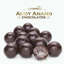 Andy Anand Dark Chocolate Peach Brandy Cordials Box 1 lbs With Free Air Shipping