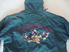 Vintage Team Walt Disney Mickey Mouse & co Starter Jacket Parka Coat L