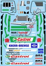 1/14 Castrol Mans Racing Truck Set - Tamiya TA01 TA02 TT01 TT-01 E