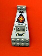 Lego--30119pb01--Flügel-Panel--UFO-Space--Grau/OldGray-8x4+2x3 1/3--Bedruckt