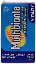 Seven Seas Multibionta Probiotic Multi Vitamin Mineral Advanced 60 Tablets