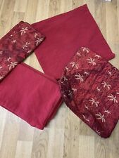 6 X Red Cushion Cases