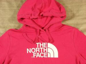 Women's The North Face Half Dome Hoodie Medium M pink/white