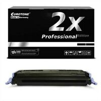 2x Pro Cartridge Black For Canon Lasershot LBP-5000 I-Sensys LBP-5100