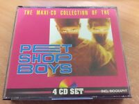 PET SHOP BOYS THE MAXI-CD COLLECTION (GERMANY 1991) 4CD ALBUM FATBOX MB17