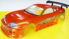 RC 10th SCALA FAST AND FURIOUS SUPRA Adesivi Decalcomanie Paul Walker alla deriva JDM