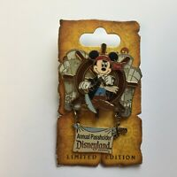 DLR - Pirates of the Caribbean Legend of the Golden Pins Mickey Disney Pin 46467