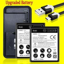 High Capacity 3770mAh Battery Universal Charger Cable for Motorola Moto E5 Play