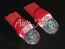 (10) Xenon Red 1-LED 168 921 657 T10 LED Bulbs For Car Interior Exterior Use