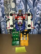Power Rangers Turbo: Deluxe Rescue Megazord NO WEAPONS - Very Used