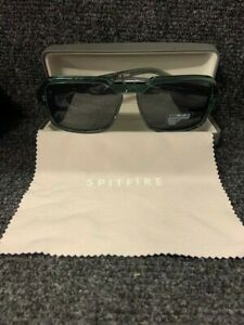 Spitfire Cut Twenty mens square sunglasses in grey NEW