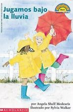 We Play On A Rainy Day (Hola, Lector!, Nivel 1) (Spanish Edition)