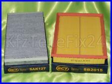 Opel Corsa C Combo Tigra Filter Satz Set Kit Innenraum/Pollenfilter_Luftfilter