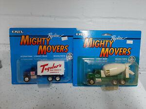 (2) Ertl commercial trucks MOC & NO RESERVE